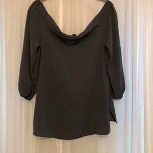 Off the shoulder Ann Taylor blouse work 1x